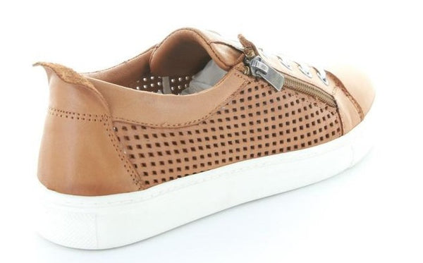 Le Sansa Wizard Lace-up Leather Shoe - Tan
