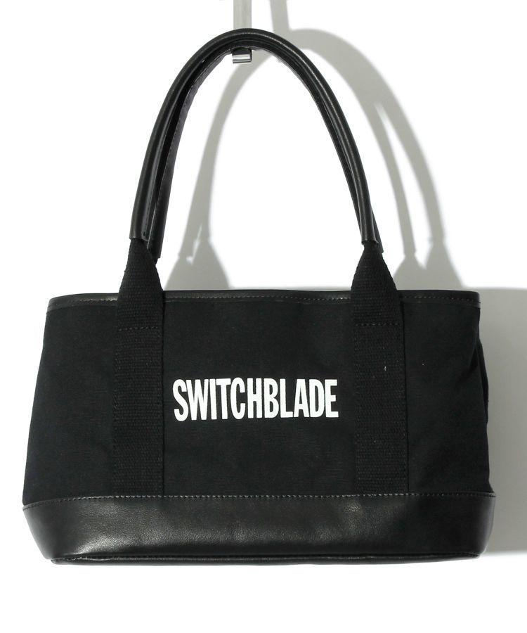 【SWITCHBLADE】MINI TOTE BAG (with POUCH) / BLACK
