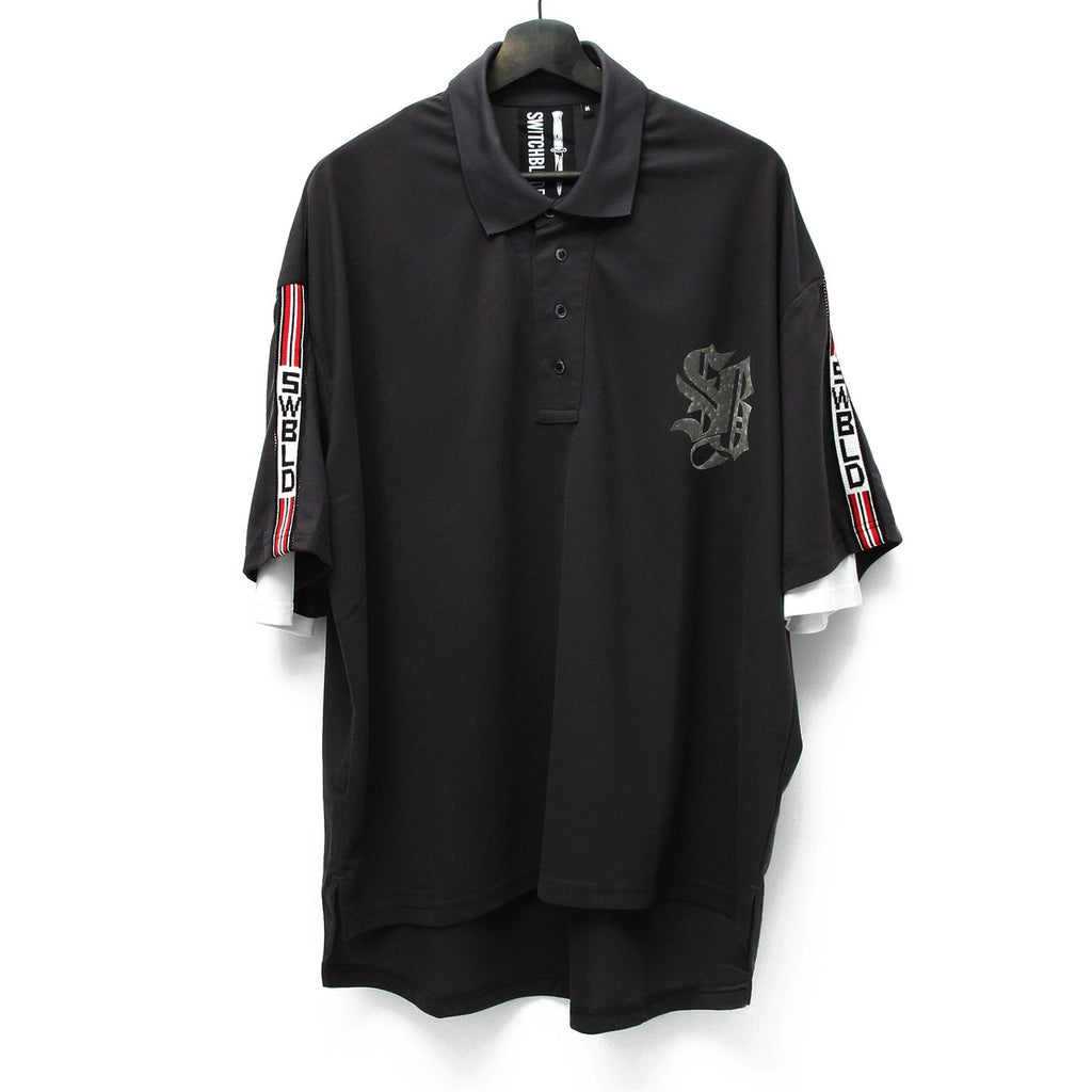 SWBLD LINE POLO SHIRT / GRAY