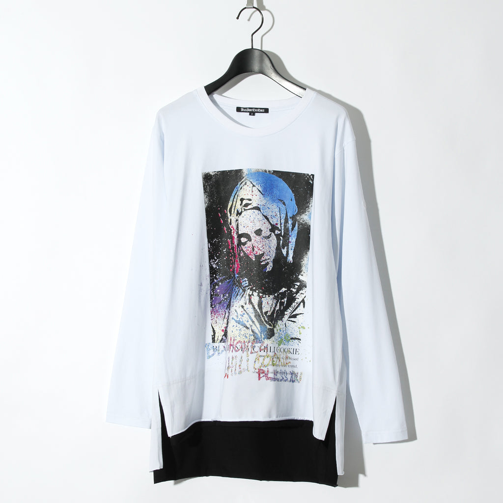 【予約商品】Saint Mary L/S Tee / WHITE