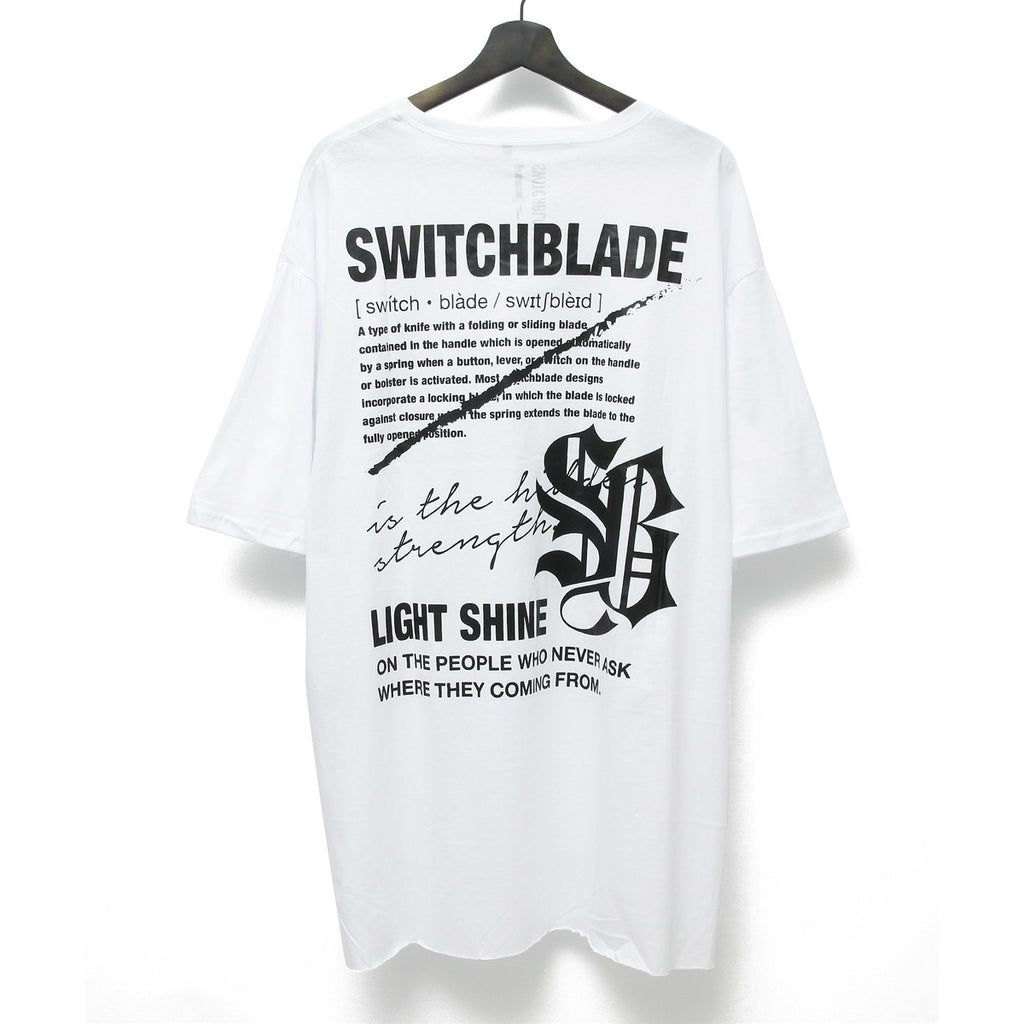 LIGHT SHINE TEE / WHITE