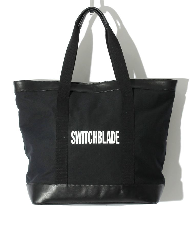 【SWITCHBLADE】TOTE BAG (with POUCH) / BLACK