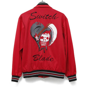HEART SKULL BLOUZON / RED