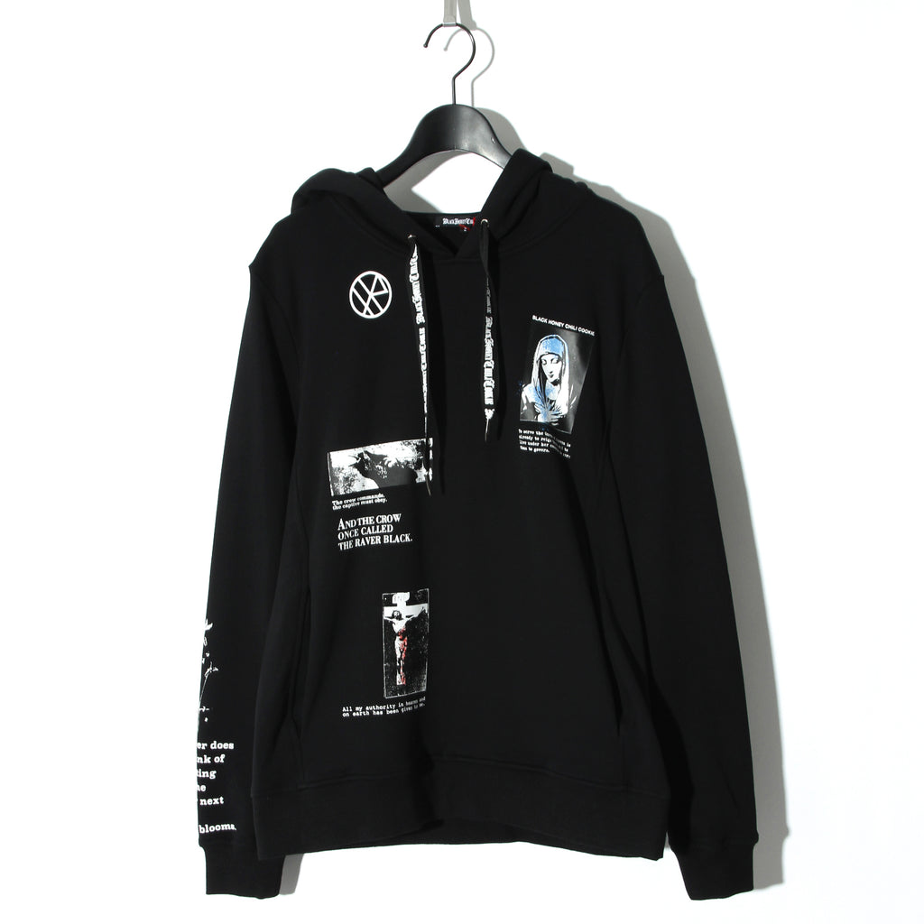 【予約商品】Graphics Parka / BLACK×WHITE
