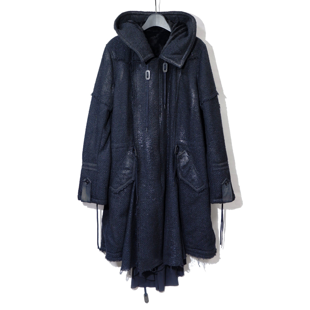 Roen COATING MODS COAT / BLACK