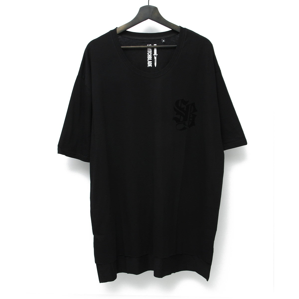 SWITCHBLADE LIGHT SHINE TEE / BLACK