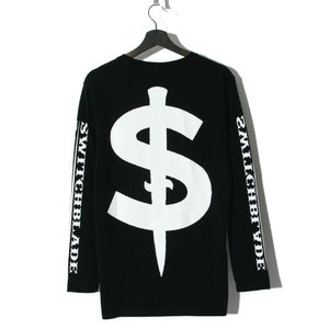 PATCHES L/S TEE / BLACK