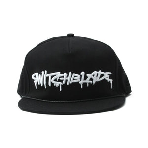 SB SPRAY LOGO CAP / BLACK×WHITE