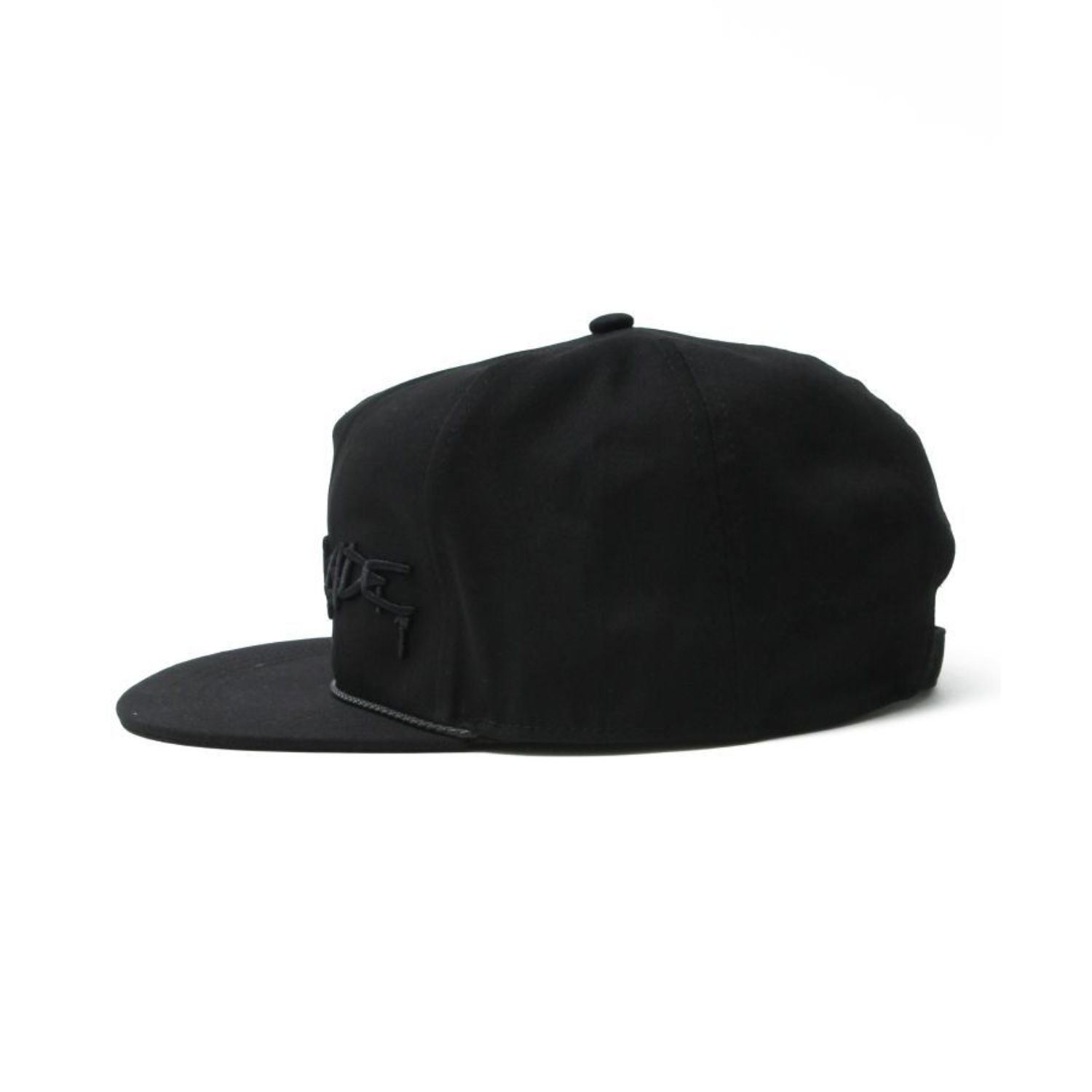 SB SPRAY LOGO CAP / BLACK×BLACK