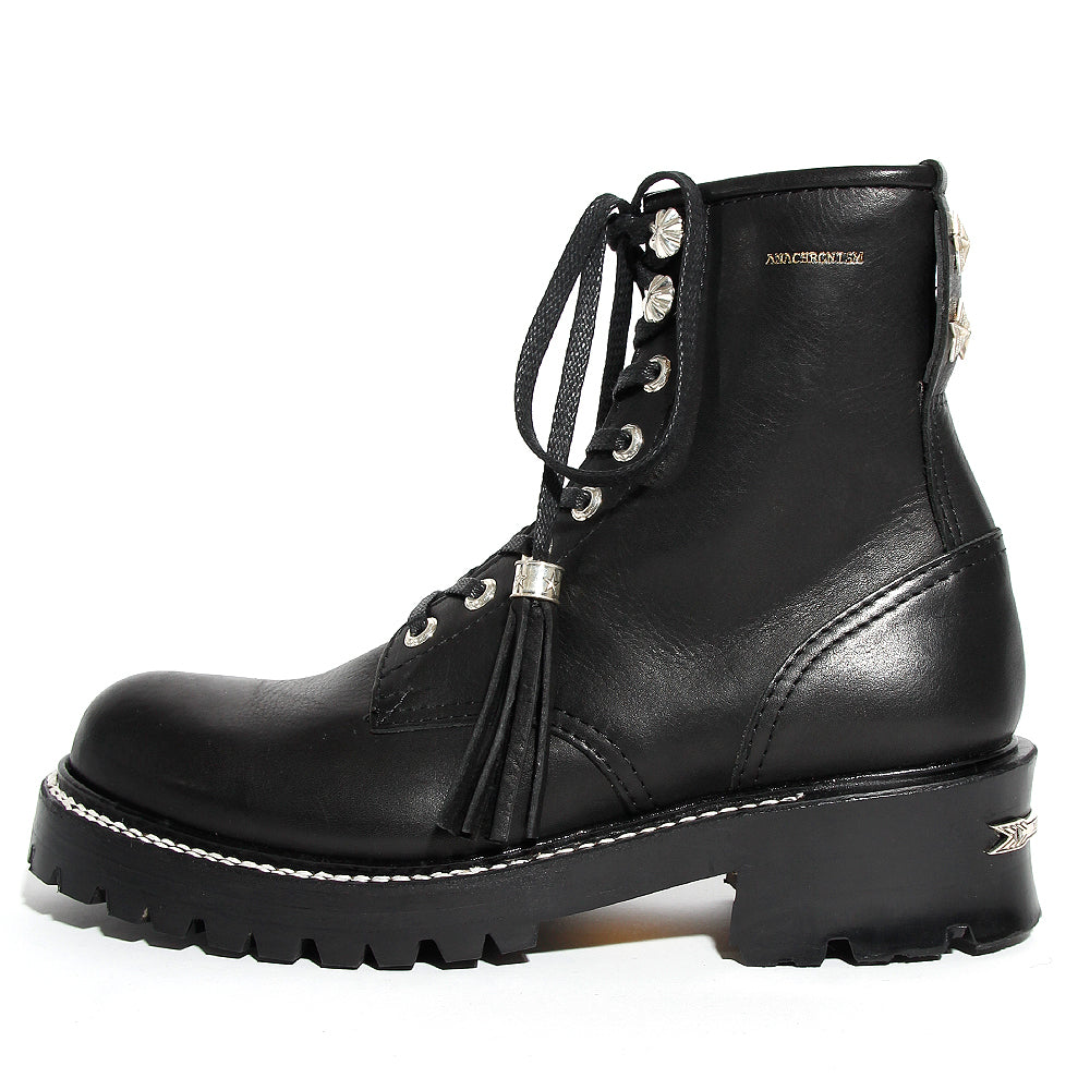 Logger Boots(Silver Parts Full Custom) / BLACK