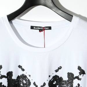 BLACK HONEY CHILI COOKIE Rorschach Tee / WHITE