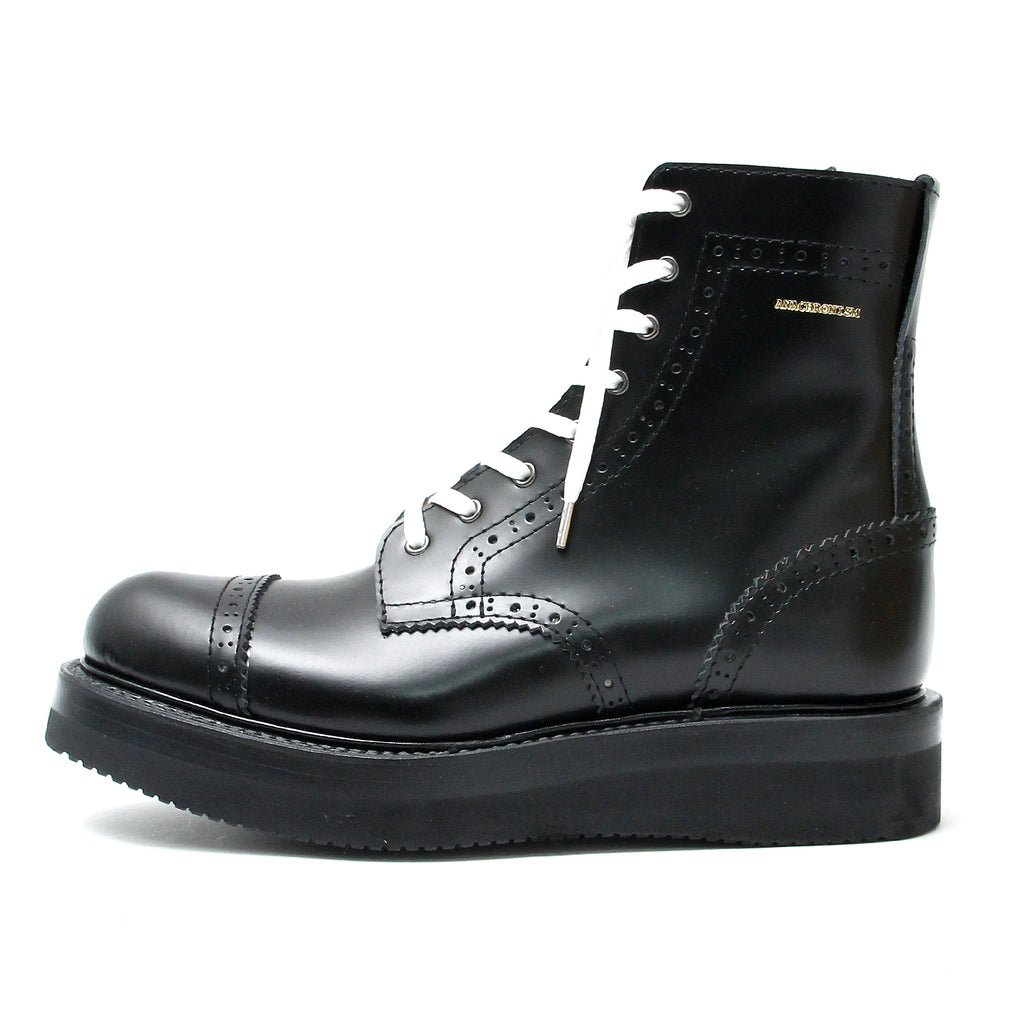 Brogue Boots(Basic) / BLACK