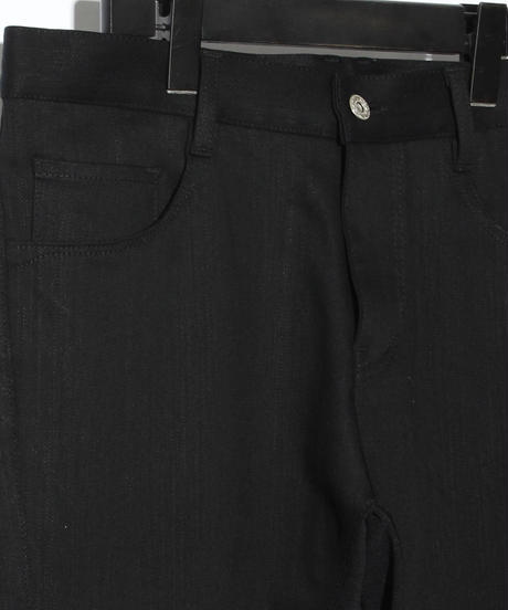 Stretch denim high tension 5P Saruel PT / BLACK
