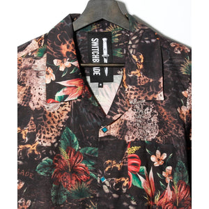 EAGLE FLOWER SHIRT / BLACK