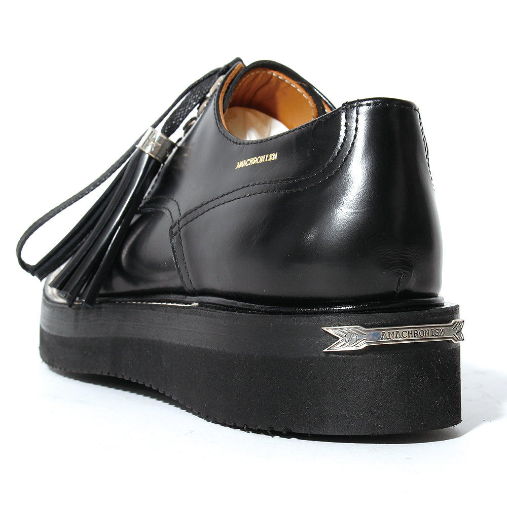 Postman Shoes (Brass Parts Full Custom) / BLACK