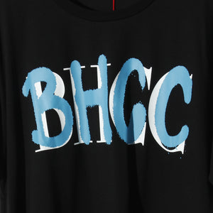 【予約商品】B.H.C.C Layered Logo Tee / BLACK