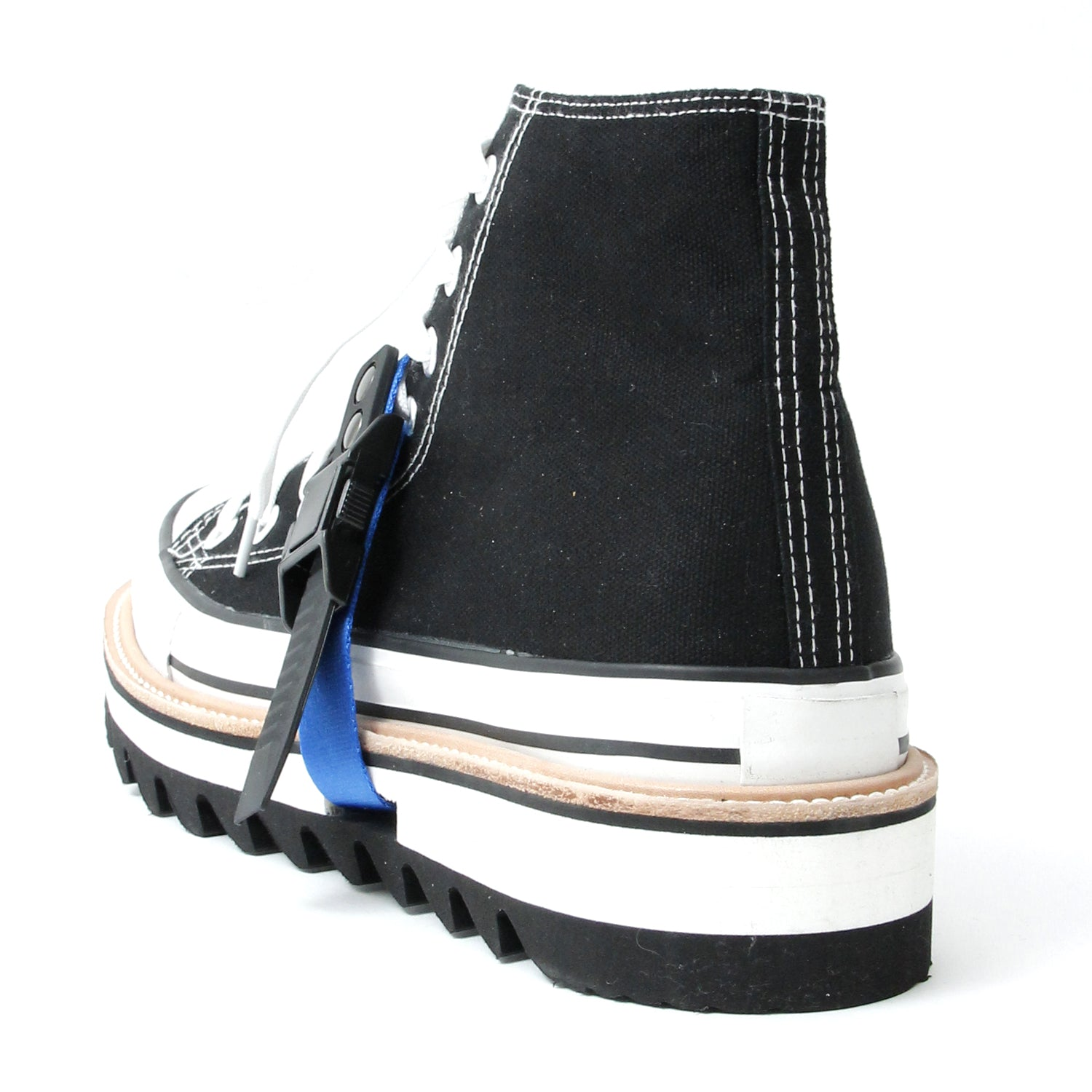 Remake Boots Sneaker(Hi-Cut) / BLACK×WHITE