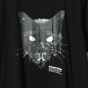 Kittyface Tee / BLACK