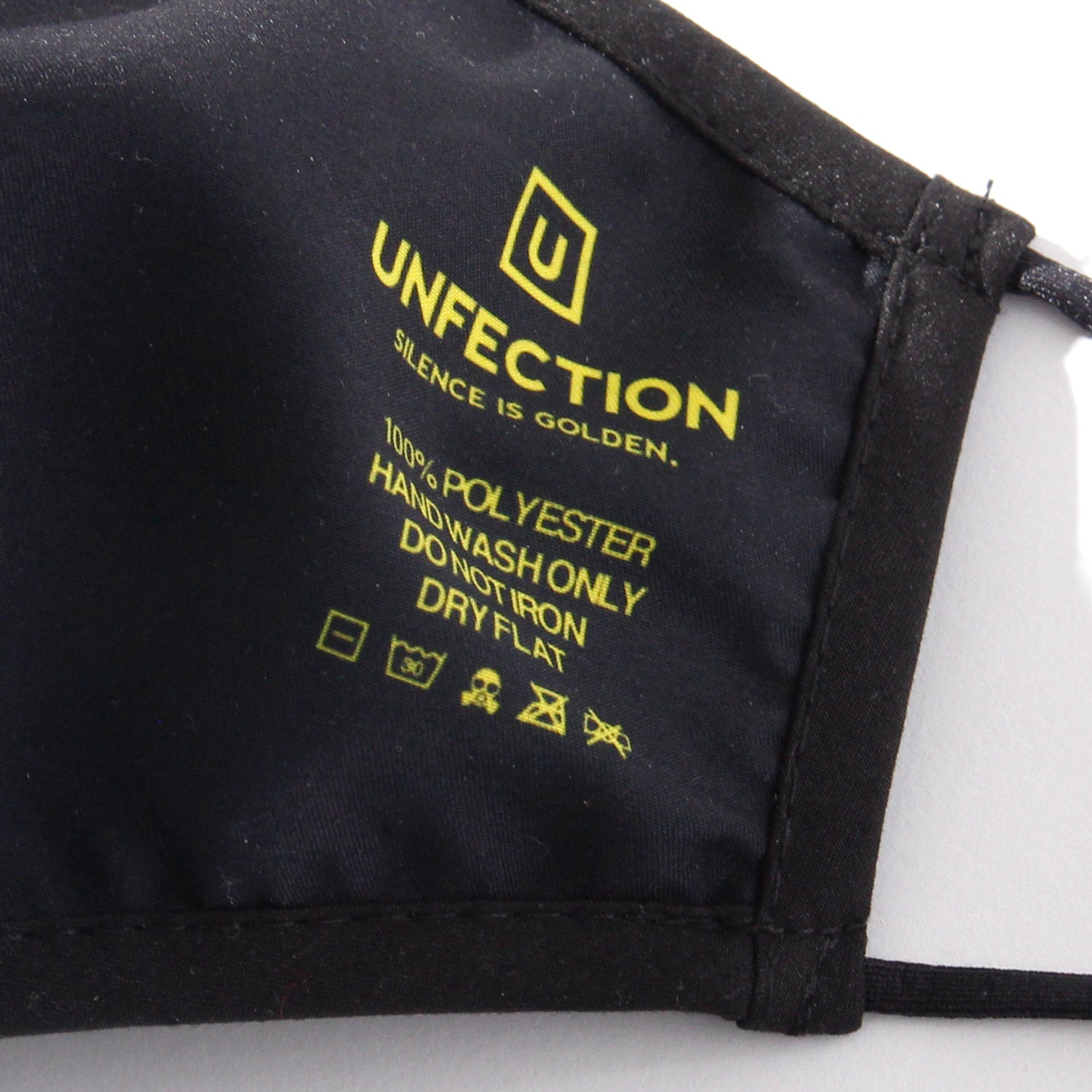【UNFECTION】 NEON TAGGED MASK
