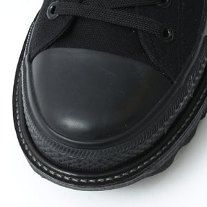 ANACHRONISM Remake Boots Sneaker(Low-Cut)  / BLACK
