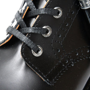 ANACHRONISM Brogue Boots (Silver Parts Full Custom) / BLACK