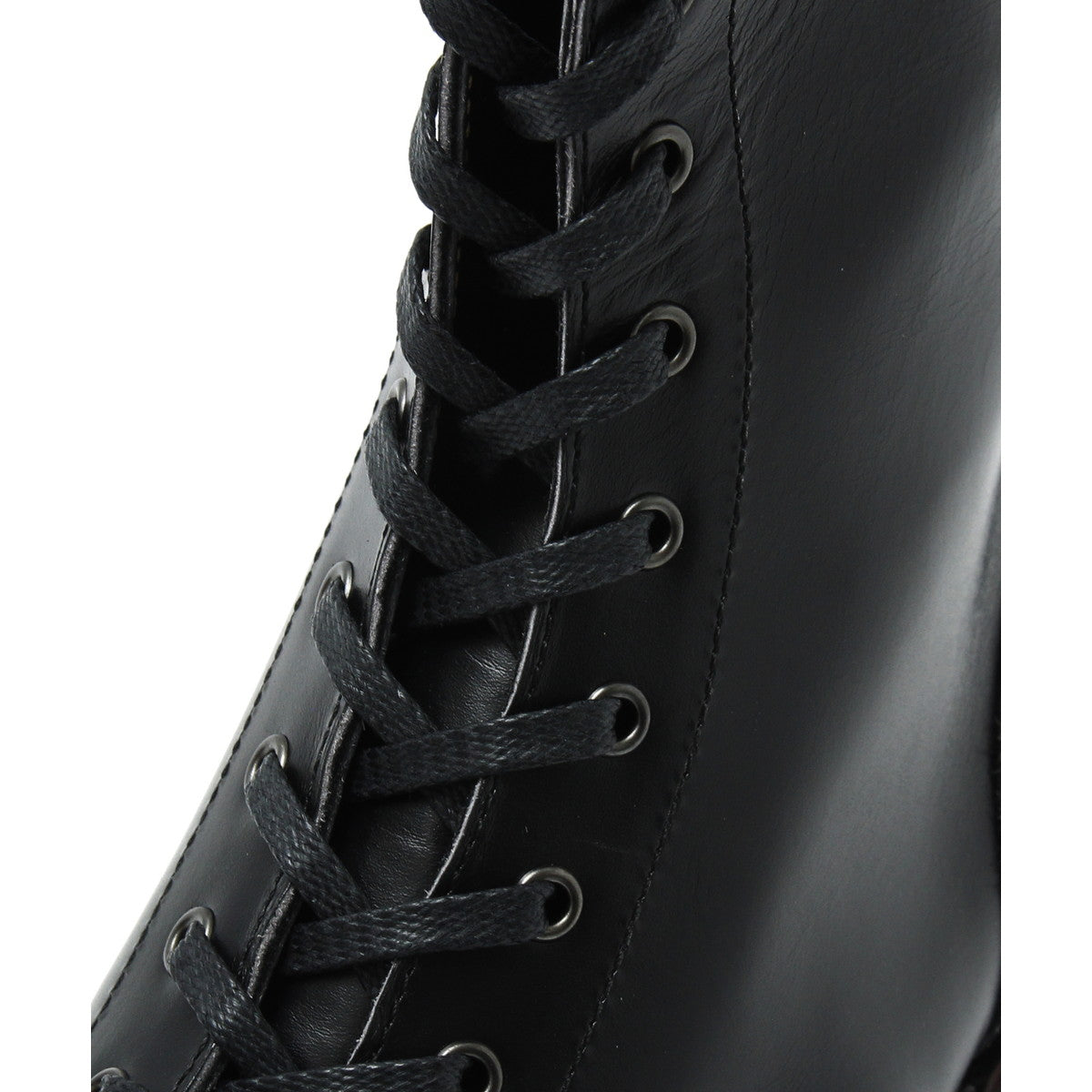 Narrow Logger Boots(Print) / BLACK
