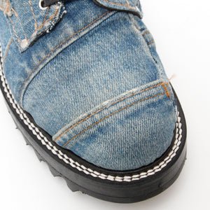 Vintage Denim Logger Boots(Basic) / DENIM