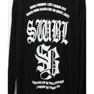 SWBL LONG CARDIGAN / BLACK
