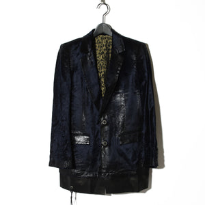 BLACK HONEY CHILI COOKIE Foil Processing Jacket / BLUE