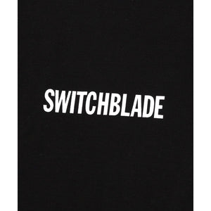 SWITCHBLADE SWITCHBLADE LOGO TEE / BLACK