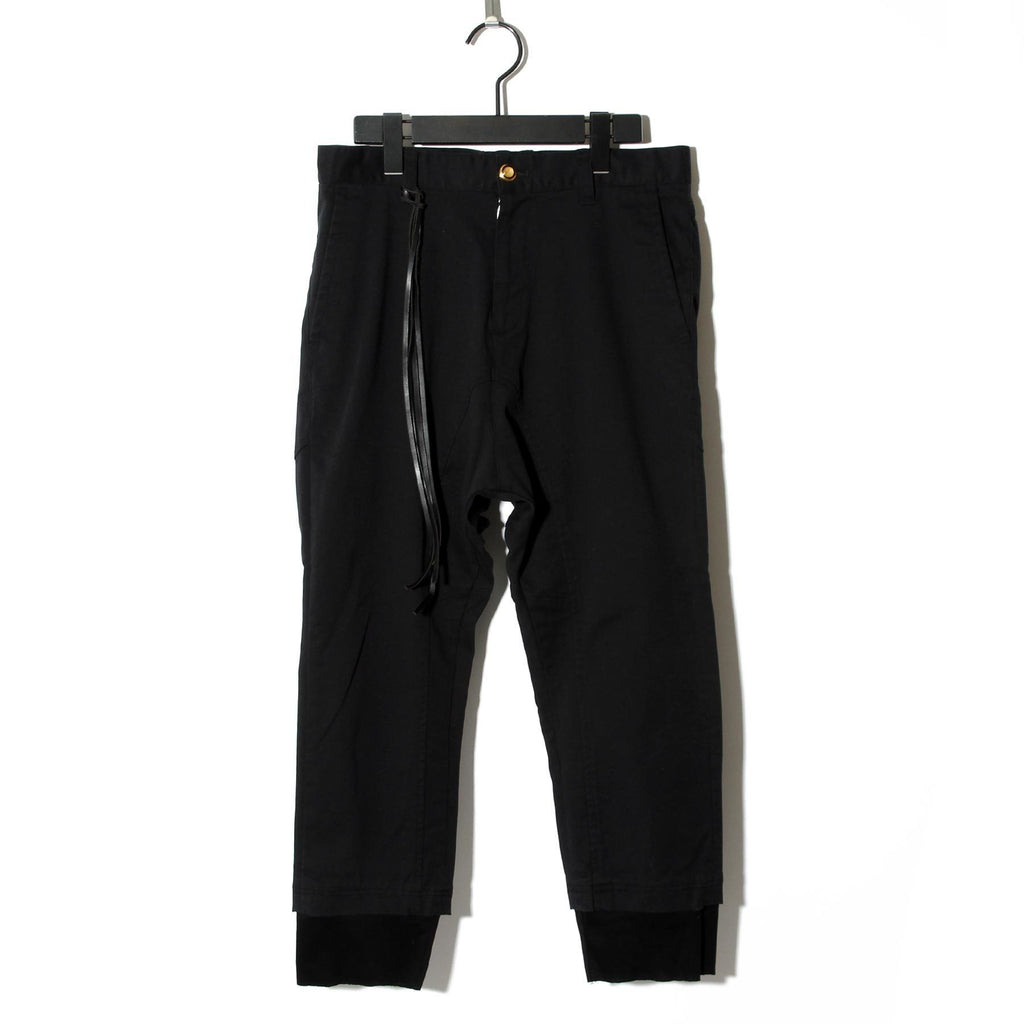 BLACK HONEY CHILI COOKIE Rider's Chinos / BLACK