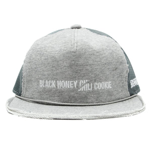 B.H.C.C Cut Embroidery Baseball Cap / GRAY