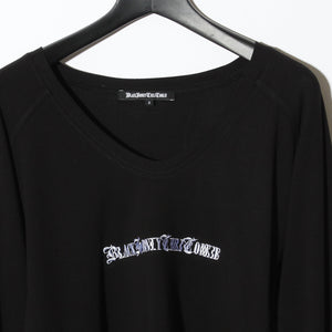 BLACK HONEY CHILI COOKIE Embroidery Black Honey T / BLACK