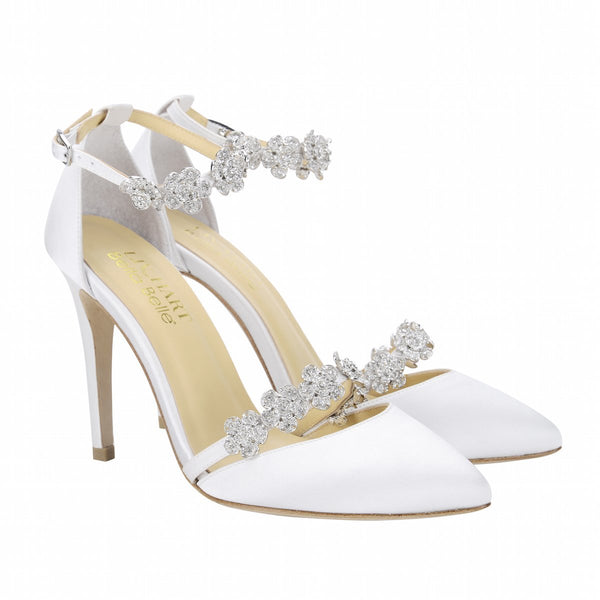 Bella Belle Shoes Olivia, wedding shoes, ivory wedding shoes, pretty wedding shoes, gorgeous wedding shoes, modern wedding shoes