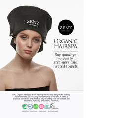 ZENZ Organic HairSpa instructions