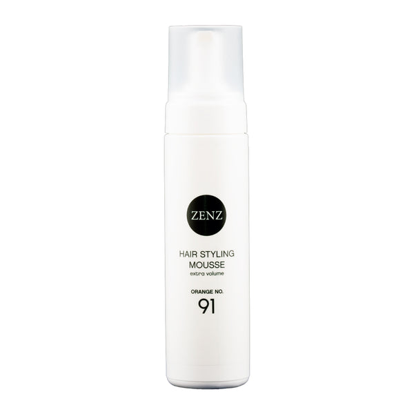 Zenz Organic Hair Styling Mousse Extra Volume Orange no. 91, 200 ml, 6.7 fl. oz.