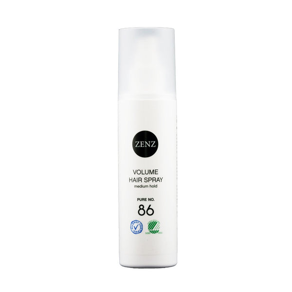 ZENZ Organic Volume Hair Spray Pure no. 86, 200 ml, 6.7 fl. oz.