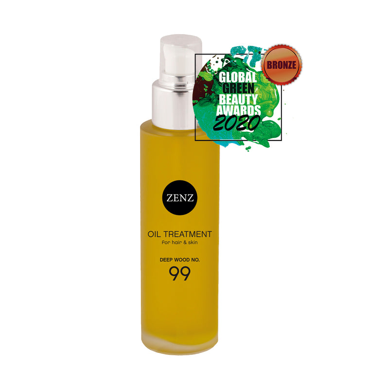 ZENZ Organic Oil Treatment Deep Wood no. 99, 100 ml, 3.4 fl. oz.