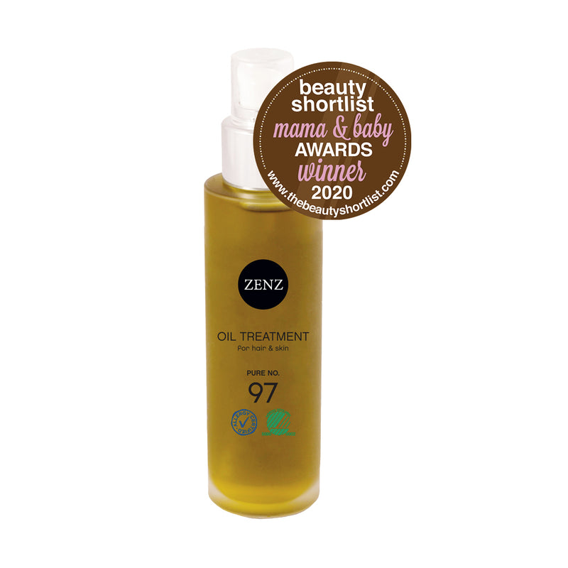 ZENZ Organic Oil Treatment Pure no. 97, 100 ml, 3.4 fl. oz.