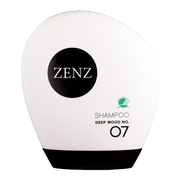 ZENZ Organic Shampoo Deep Wood no. 07, 250 ml, 8.4 fl. oz.