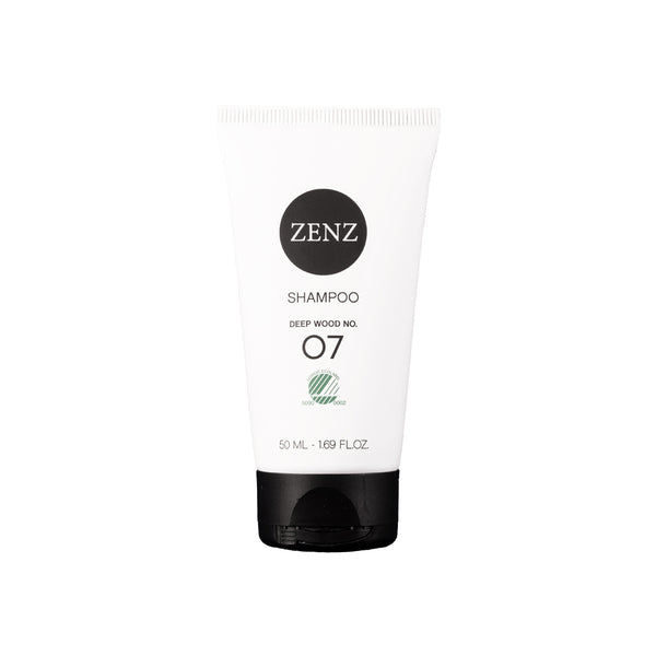 ZENZ Organic Shampoo Deep Wood no. 07, 50 ml, 1.69 fl. oz