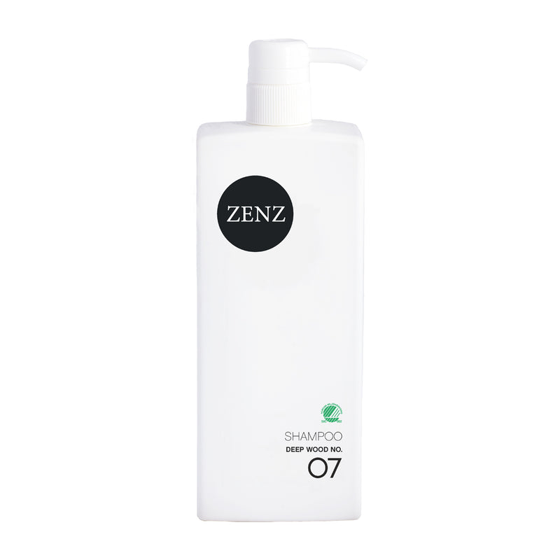 ZENZ Organic Shampoo Deep Wood no. 07, 785 ml, 26.5 fl. oz.