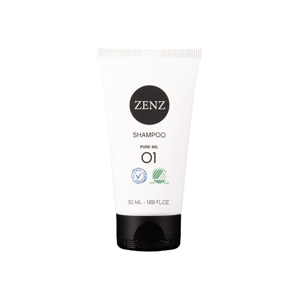 ZENZ Organic Shampoo Pure no. 01, 50 ml, 1.69 fl. oz.