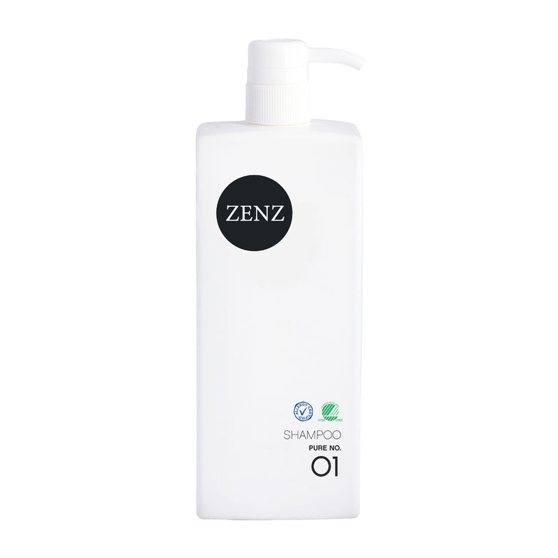 ZENZ Organic Shampoo Pure no. 01, 785 ml, 26.5 fl. oz.