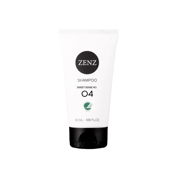 ZENZ Organic Shampoo Sweet Sense no. 04, 50 ml, 1.69 fl.oz.