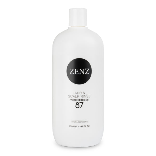 ZENZ Organic Hair & Scalp Rinse Fresh Herbs no. 87, 1000 ml, 33.8 fl.oz.