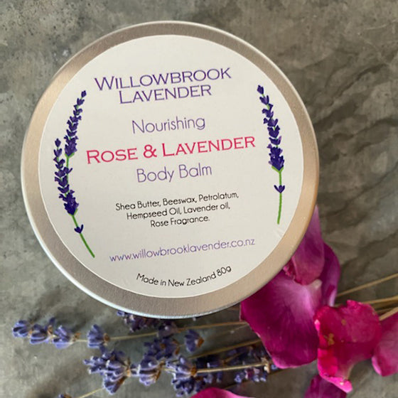 Rose & Lavender Body Balm