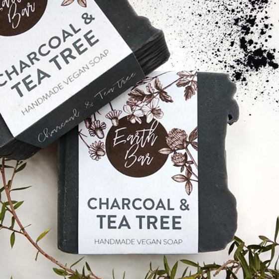 Face Cleanse Soap - Charcoal & Tea Tree