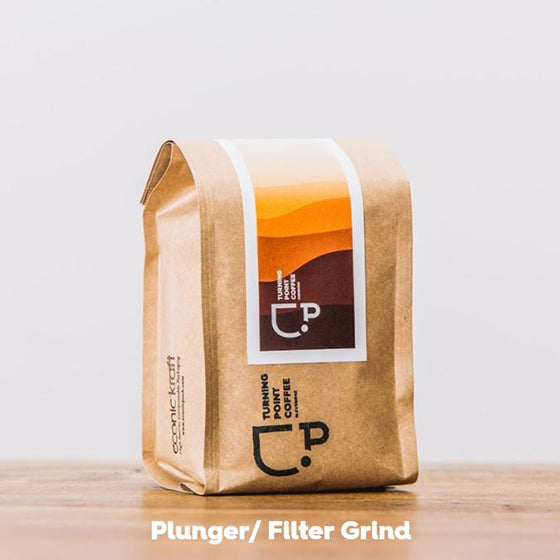 Clevedon Roasted Organic Coffee - Filter / Plunger Grind