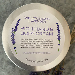 Rich Hand & Body Cream
